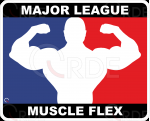 "Naklejka drukowana ""Major League Flex"""