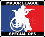 "Naklejka drukowana ""Major League Special Ops"""