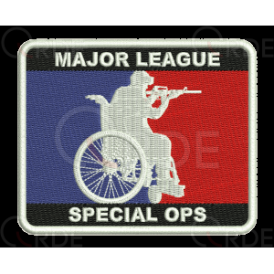 "Naszywka ""Major League Special Ops"""
