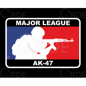 "Naklejka drukowana ""Major League Ak-47"""