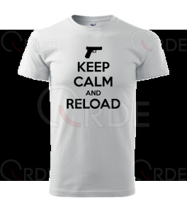 "Koszulka ""Keep Calm and Reload"""