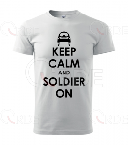 "Koszulka ""Keep Calm and Soldier On"""