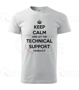 "Koszulka ""Keep Calm and Tech Support"""