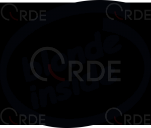"Naklejka wycinana ""Blonde Inside"""