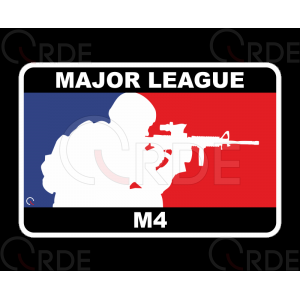 "Naklejka drukowana ""Major League M4"""