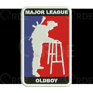 "Naszywka ""Major League Oldboy"""